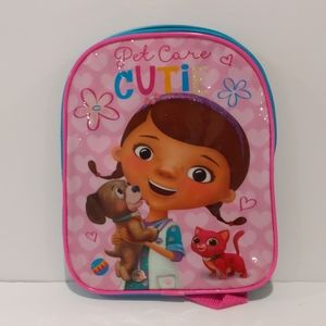 2/$20 NWT Disney Doc McStuffins mini backpack